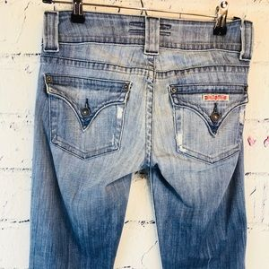 Hudson Jeans Jeans - Hudson Jeans Lightly Distressed Light Blue Size 26